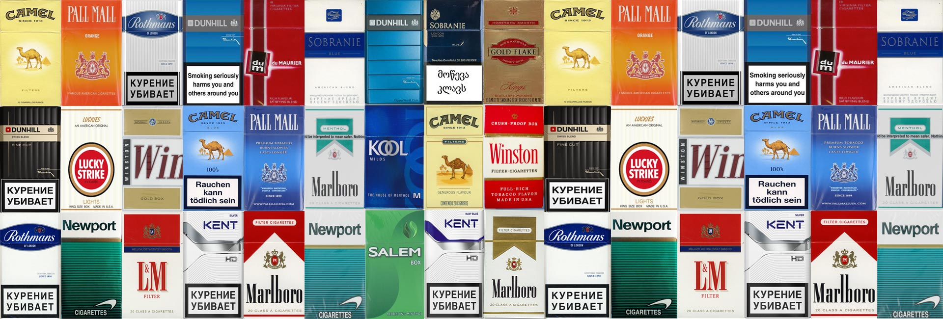 Exporter And Supplier Of Cigarettes Brands