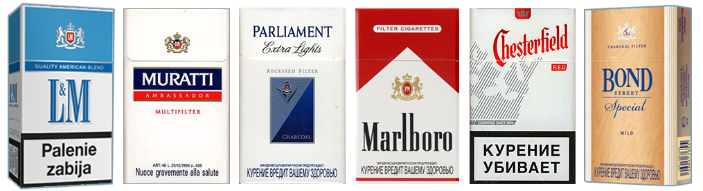 Exporters Of Philip Morris Cigarette Brands