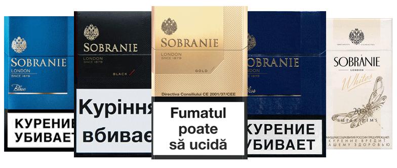 Sobranie Cigarette Brand Exporters